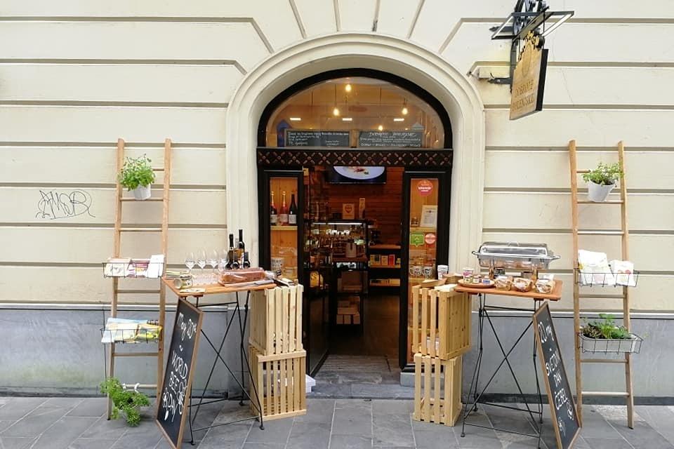 Аутентичные словенские продукты в Любляне