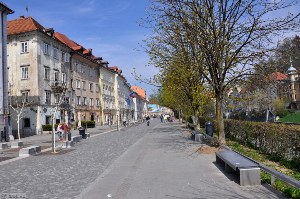 Любляна: район Breg