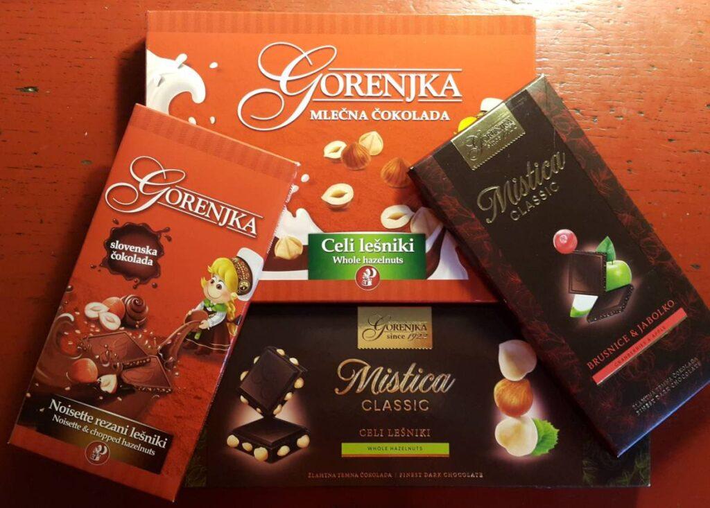 Что привезти на подарок из Словении - Шоколад Горенька