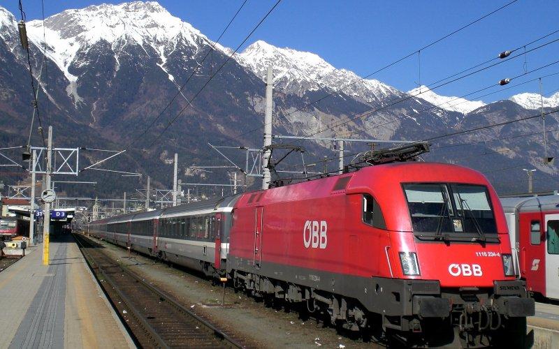 Поезд EuroNight Словения