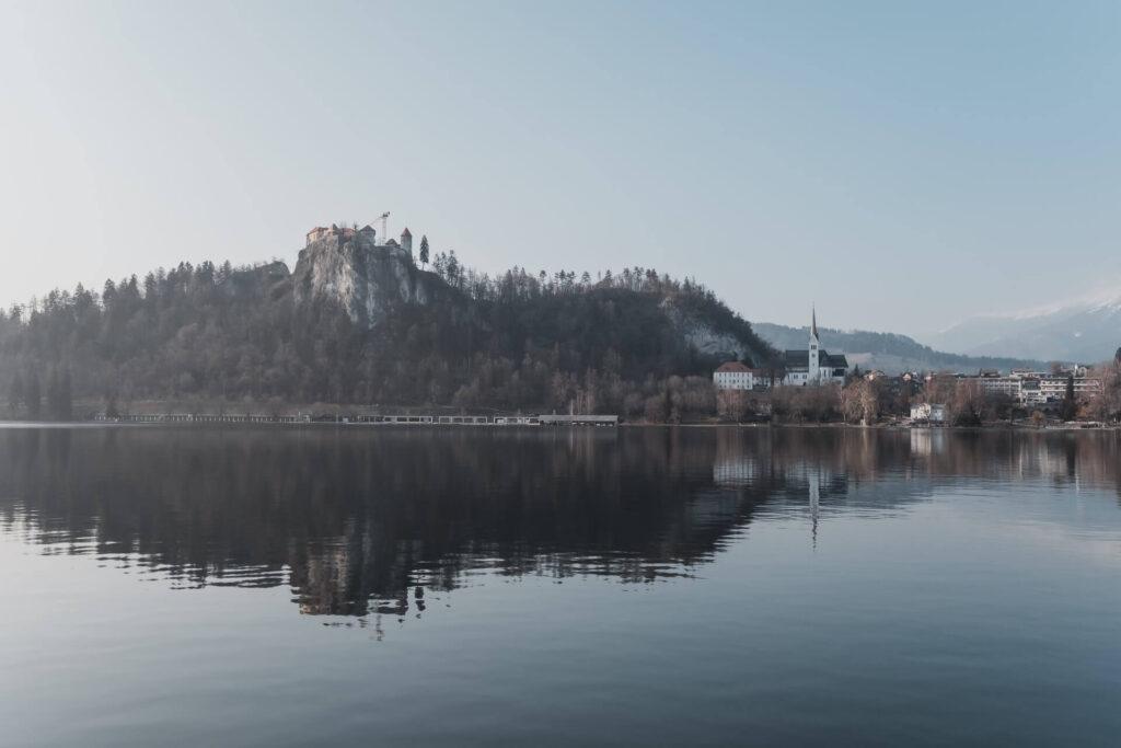 Погода зимой в Словении