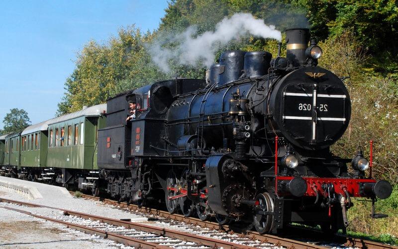 Музейный поезд, Словения