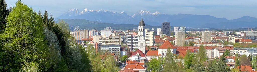 Любляна, столица Словении