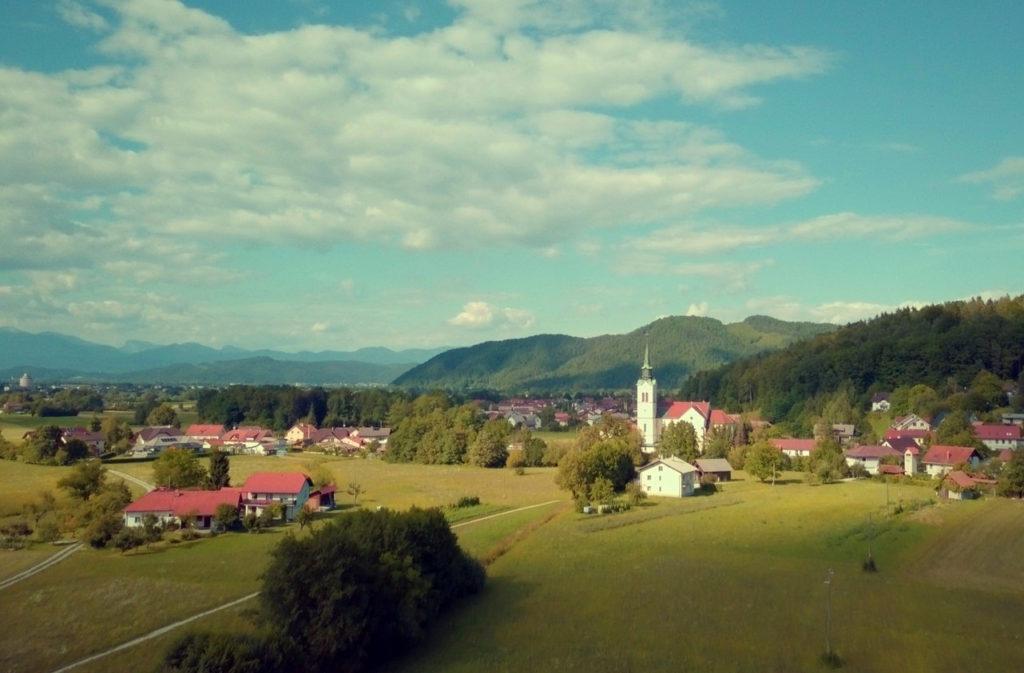 Любляна, районы города