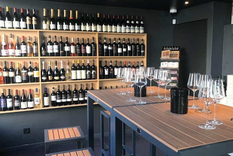 Магазин вин в Любляна —Wewino