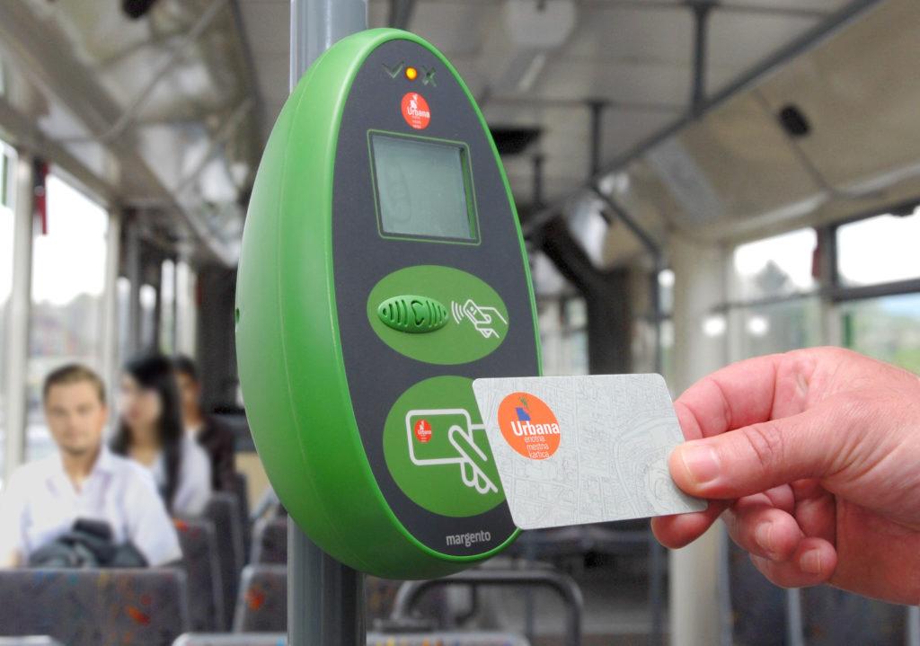Проездной билет Urbanа, Любляна