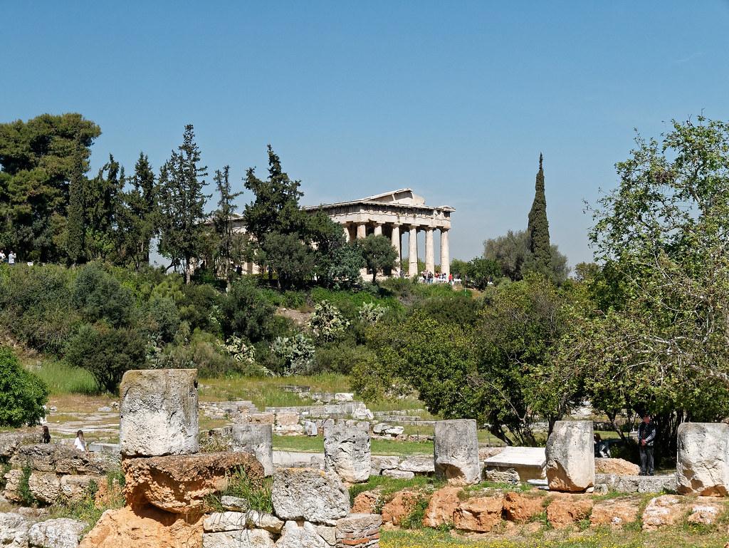 Афинская агора, фото