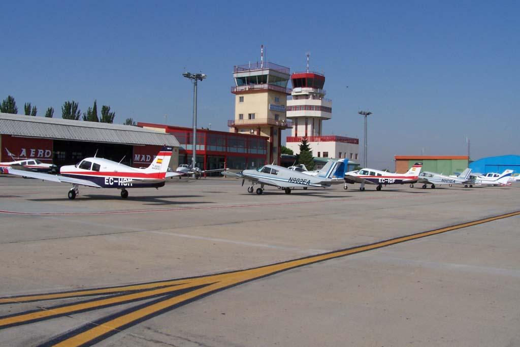 Внутренний аэропорт Мадрид-Куатро-Вьентос