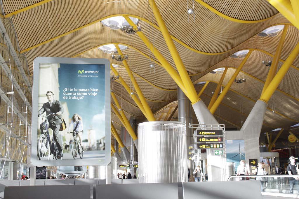 Международный аэропорт в Мадриде, Испания