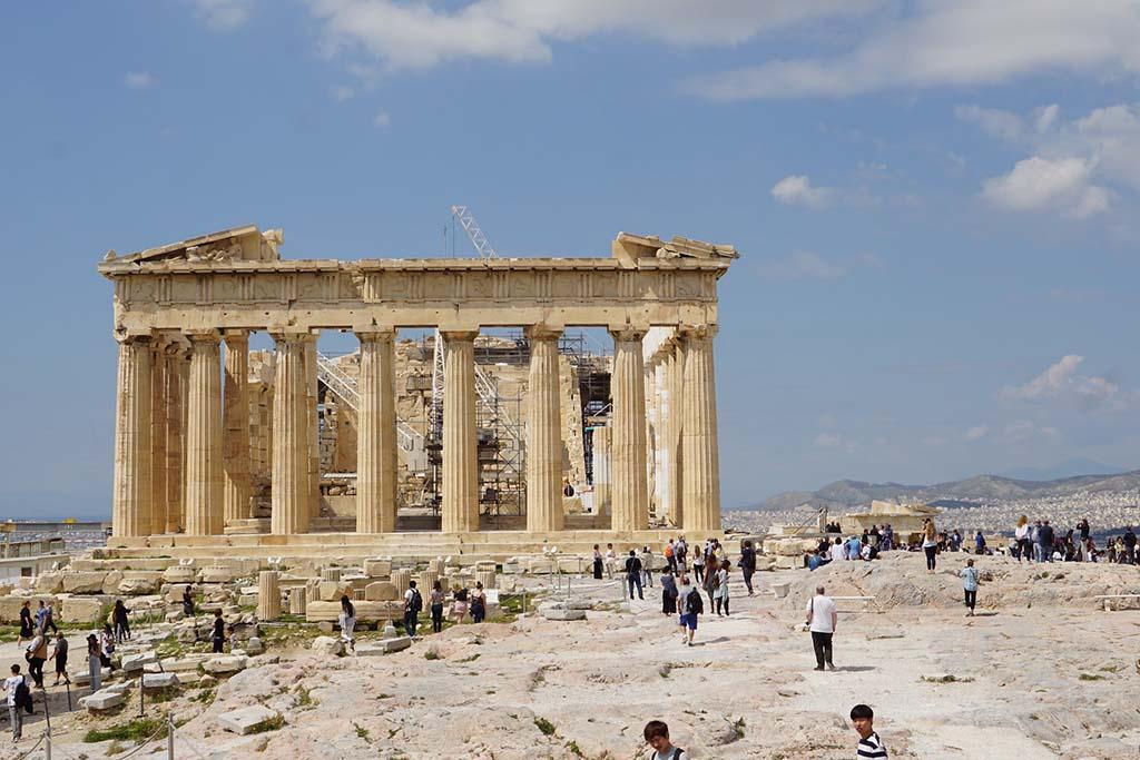Достопримечательности Афин — Акрополь