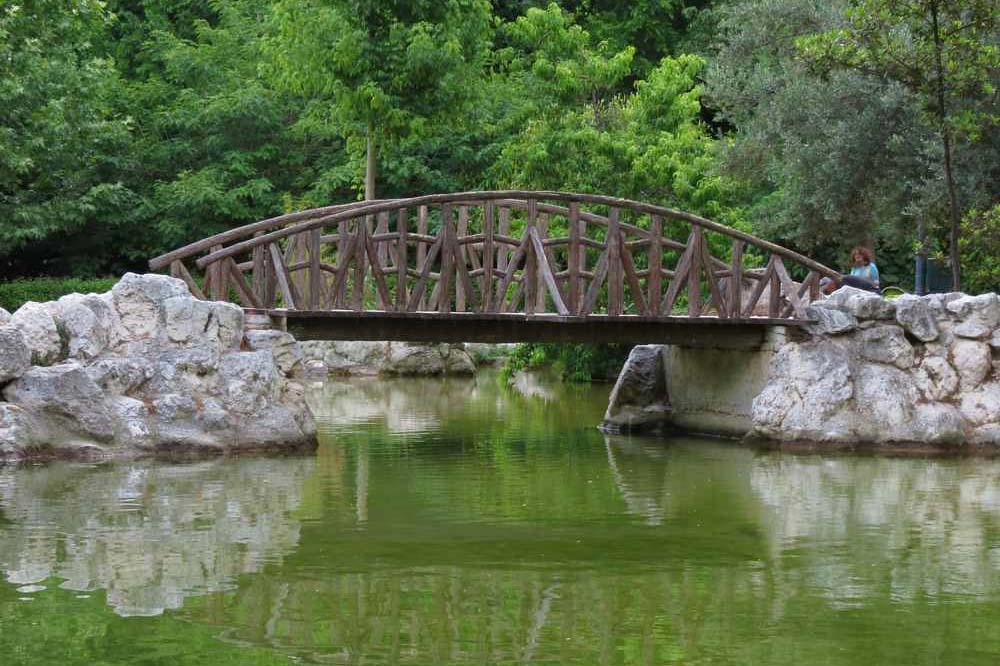 Королевский парк в Афинах, фото