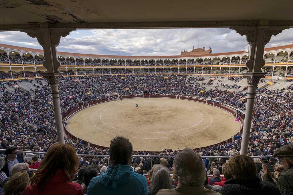 Бой быков — арена Лас-Вентас, Мадрид