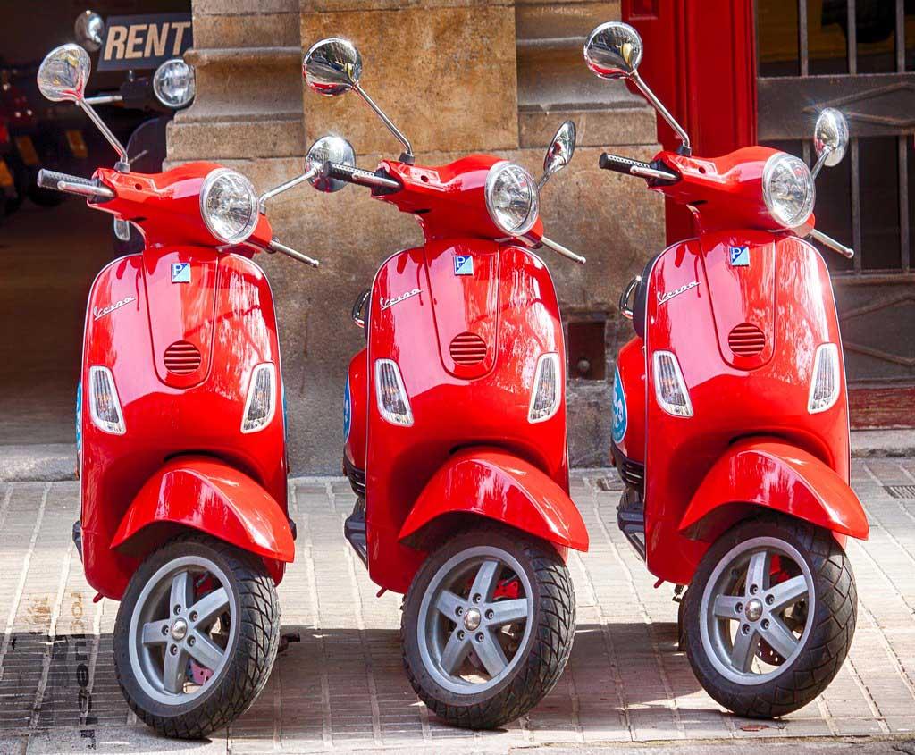 Аренда скутера в Барселоне