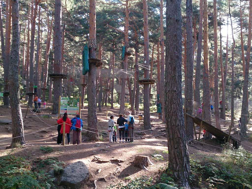 Веревочный парк в Серседилья