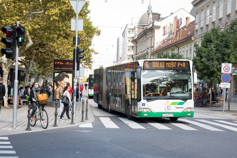 Автобусы в Любляне