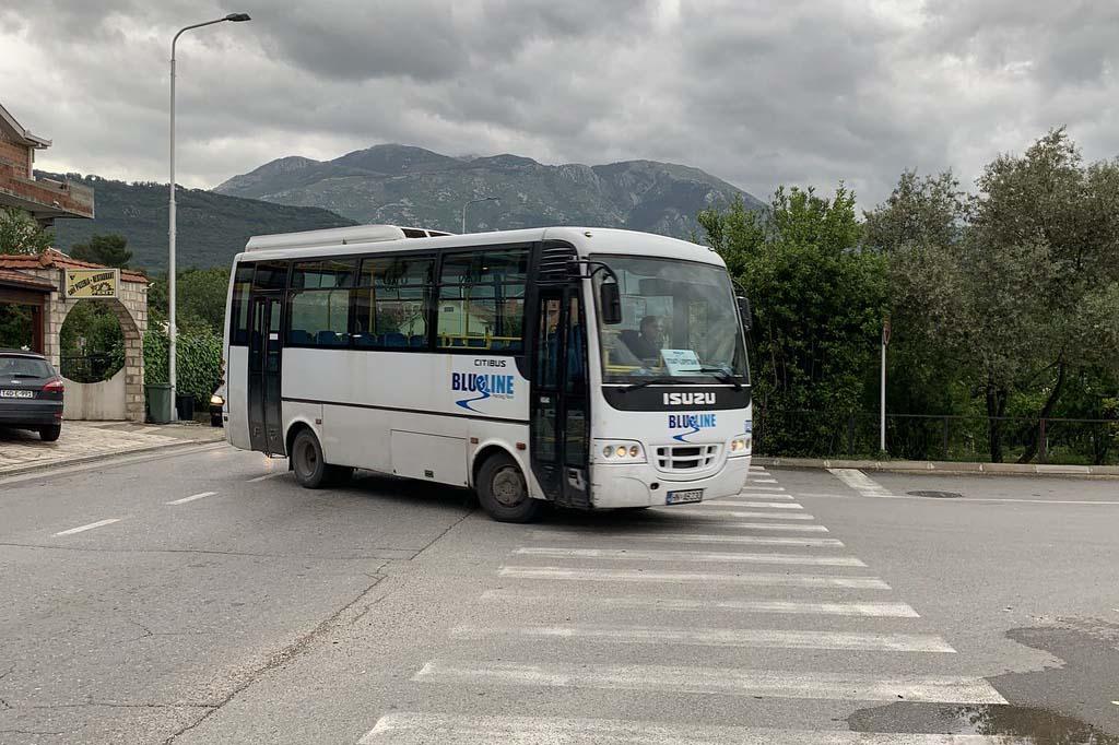 Черногория с ребенком, передвижение на общественном транспорте