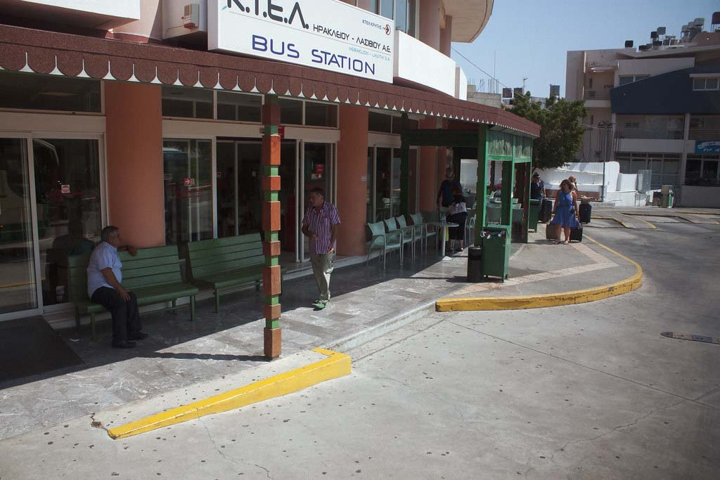 Где купить билет на автобус на Крите