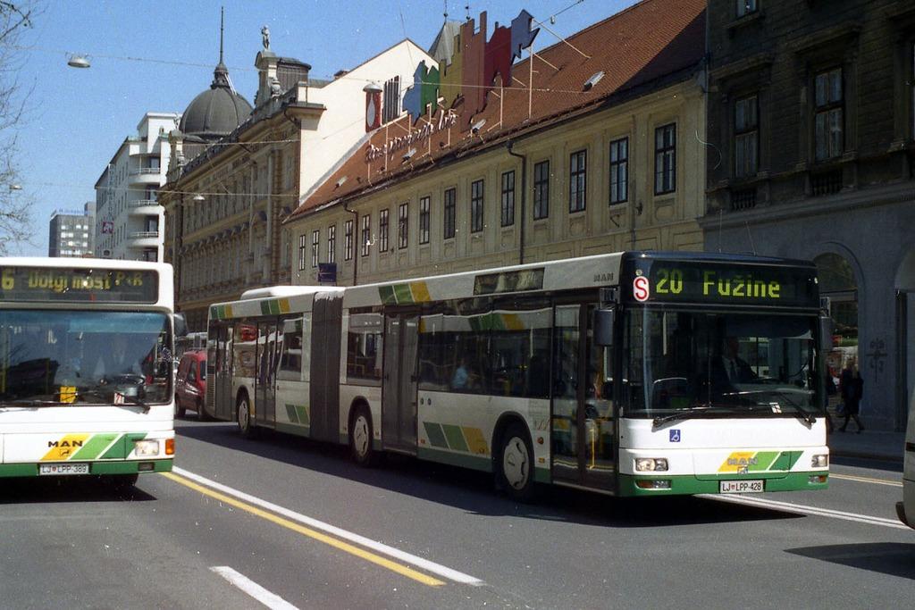 Общественный транспорт Любляны