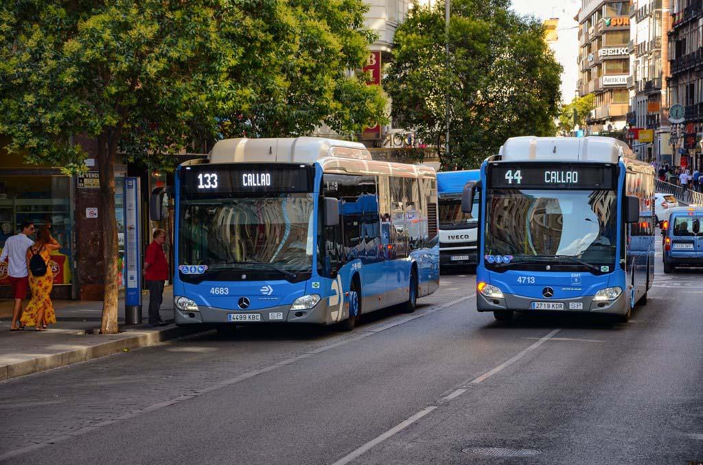 Общественный транспорт в Мадриде