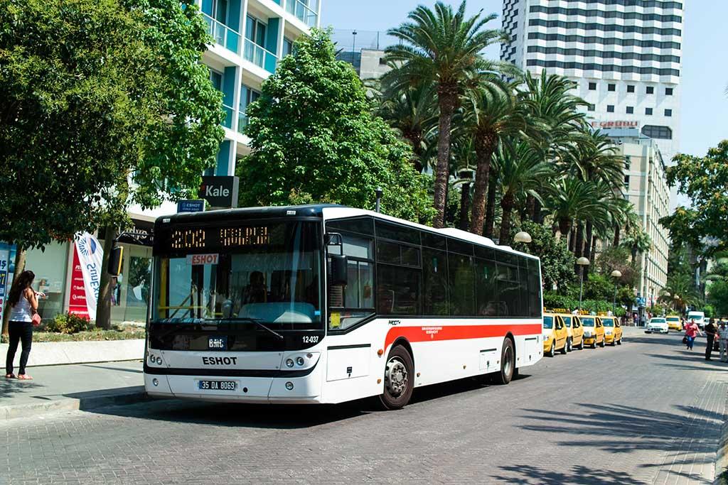Автобусы в Турции