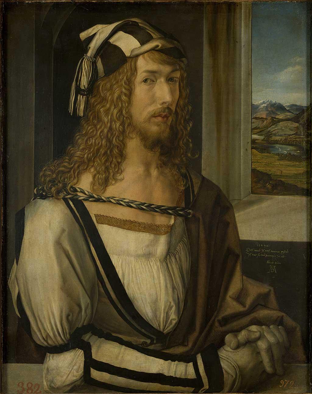 Картина Альбрехта Дюрера в музее Прадо, Мадрид
