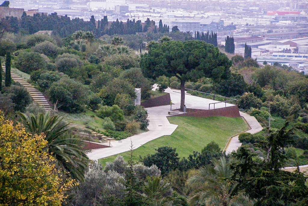 Ботанический сад Барселоны, прогулки