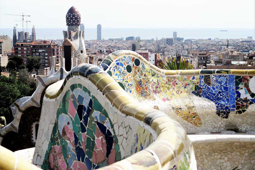 Park Güell в Барселоне