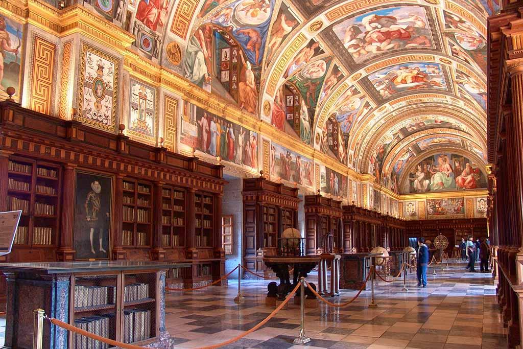 Библиотека в Эль Эскориал