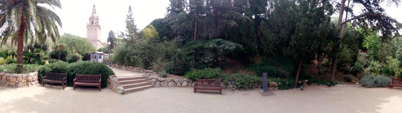 Ботанический парк Барселоны, Испания