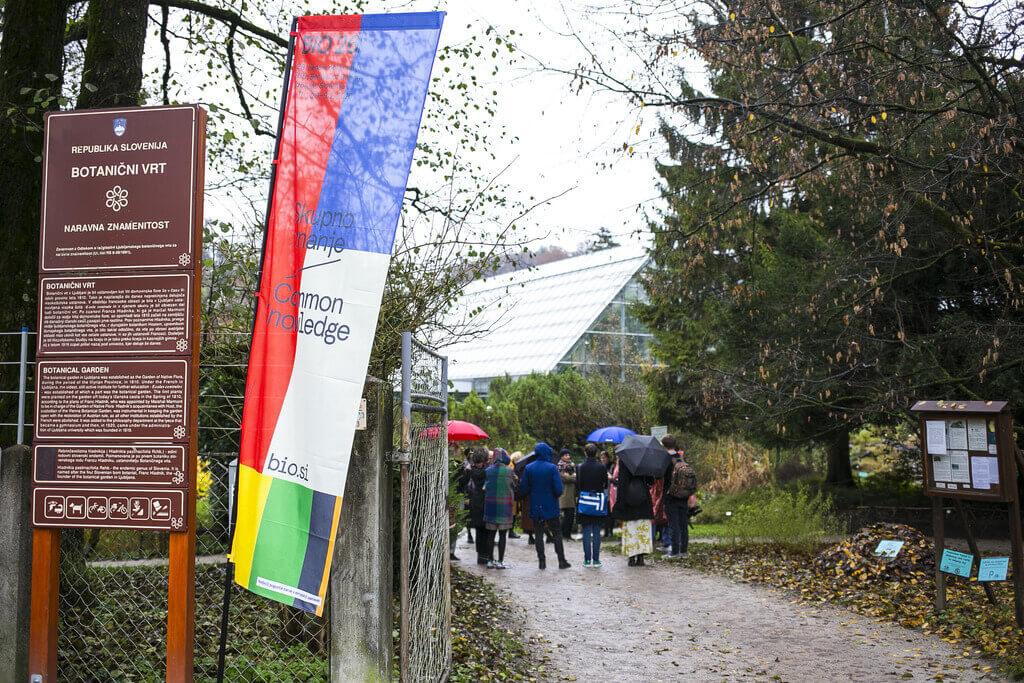 Как доехать до ботанического сада Любляны