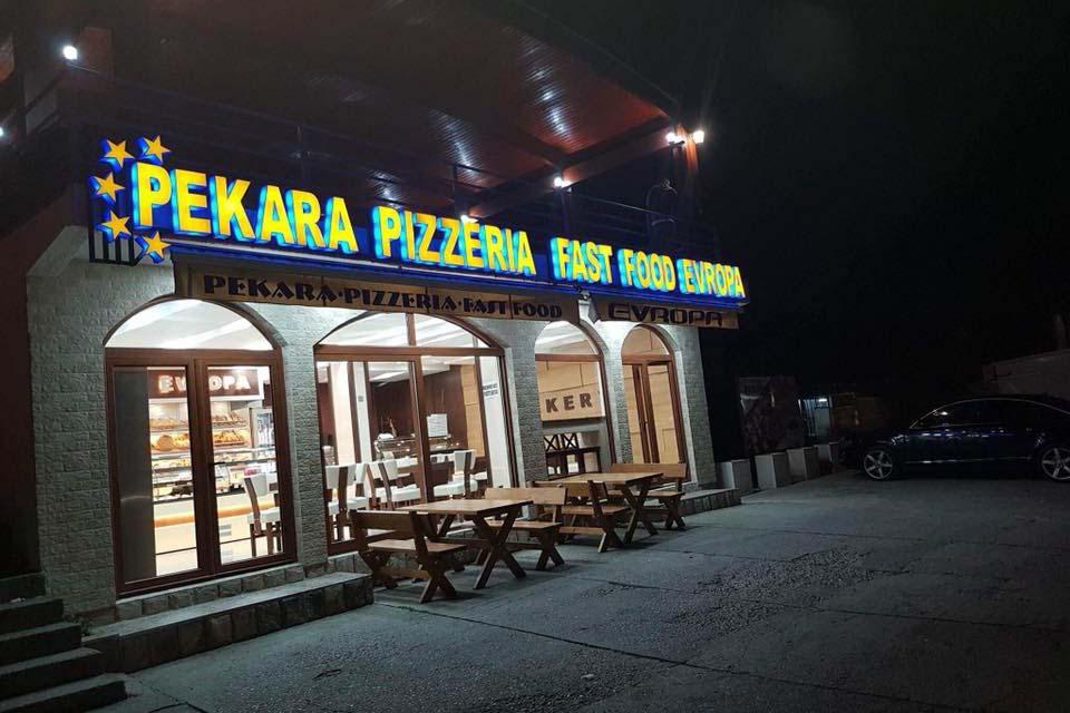 Еда в Черногории, булочная