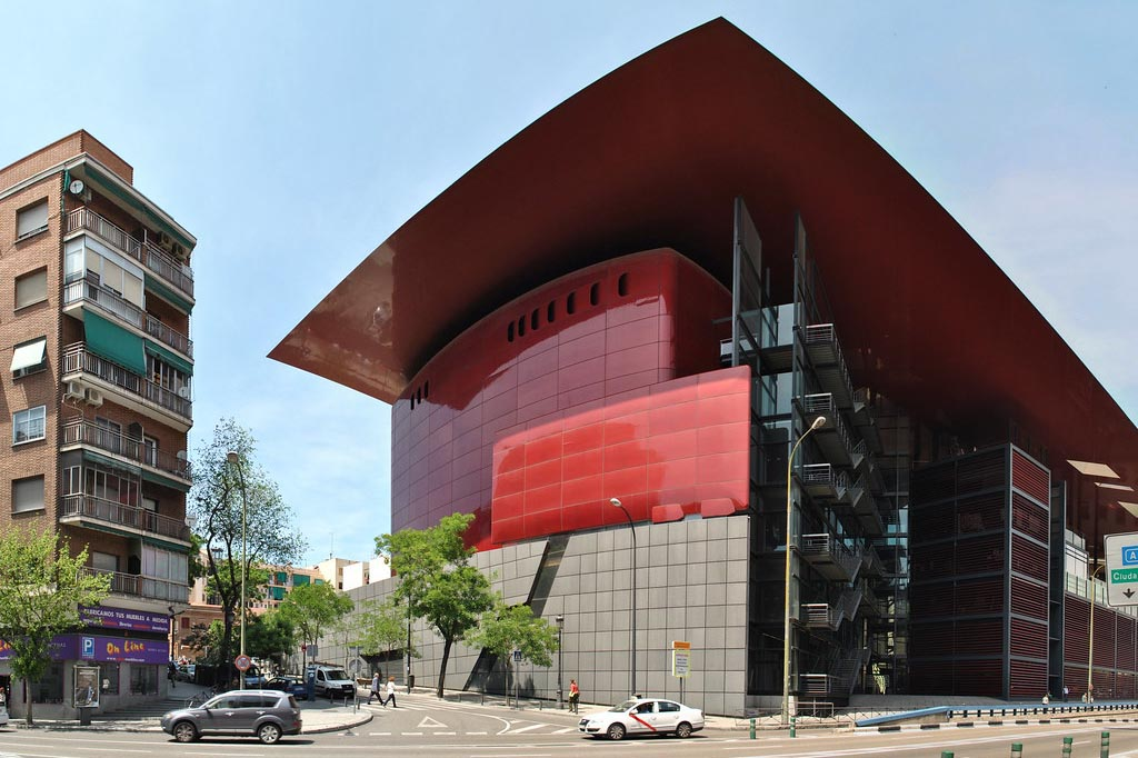 Где находится музей королевы Софии в Мадриде