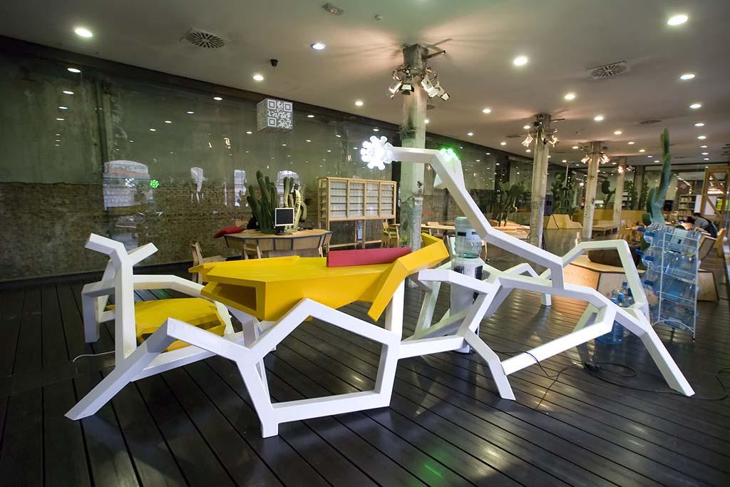 Инфо о центре искусства Матадеро в Мадриде