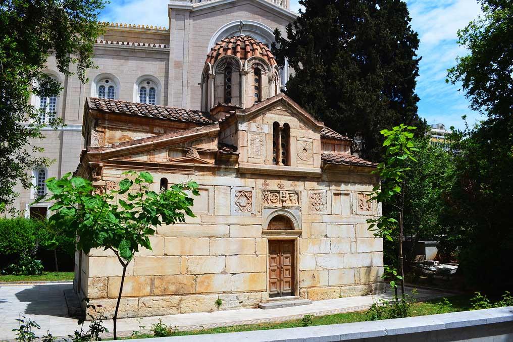Церковь Айос-Элефтериос, фото, Афины