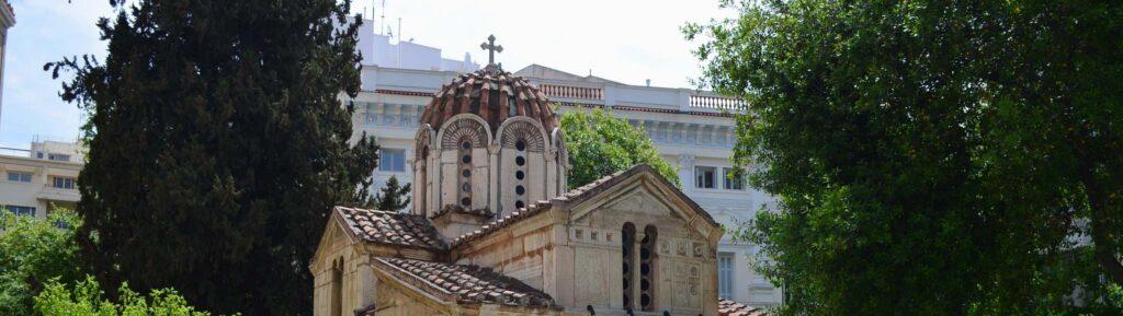 Церковь Айос-Элефтериос в Афинах