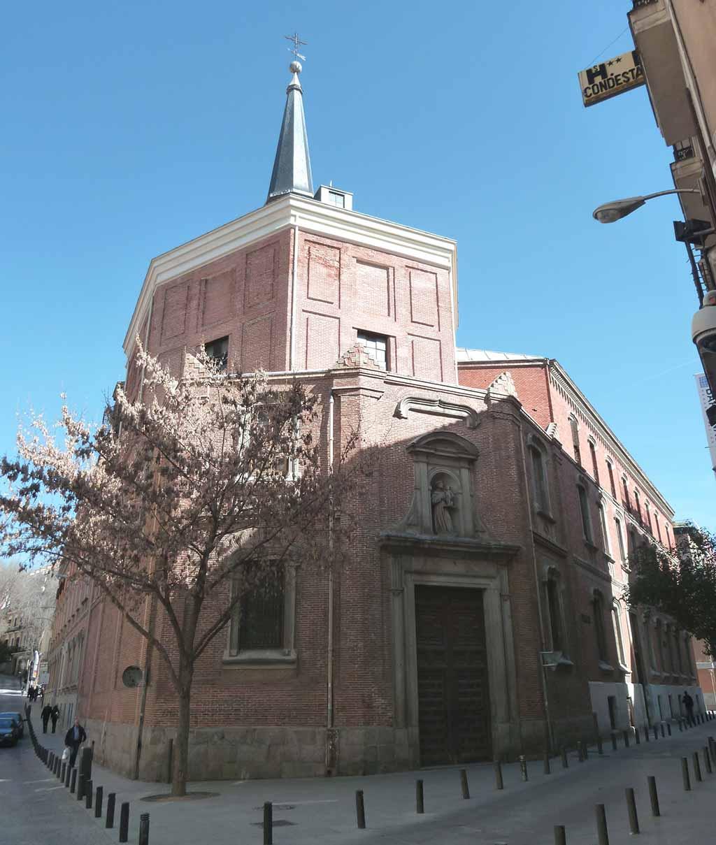 Церковь Сан-Антонио-де-лос-Алеманес