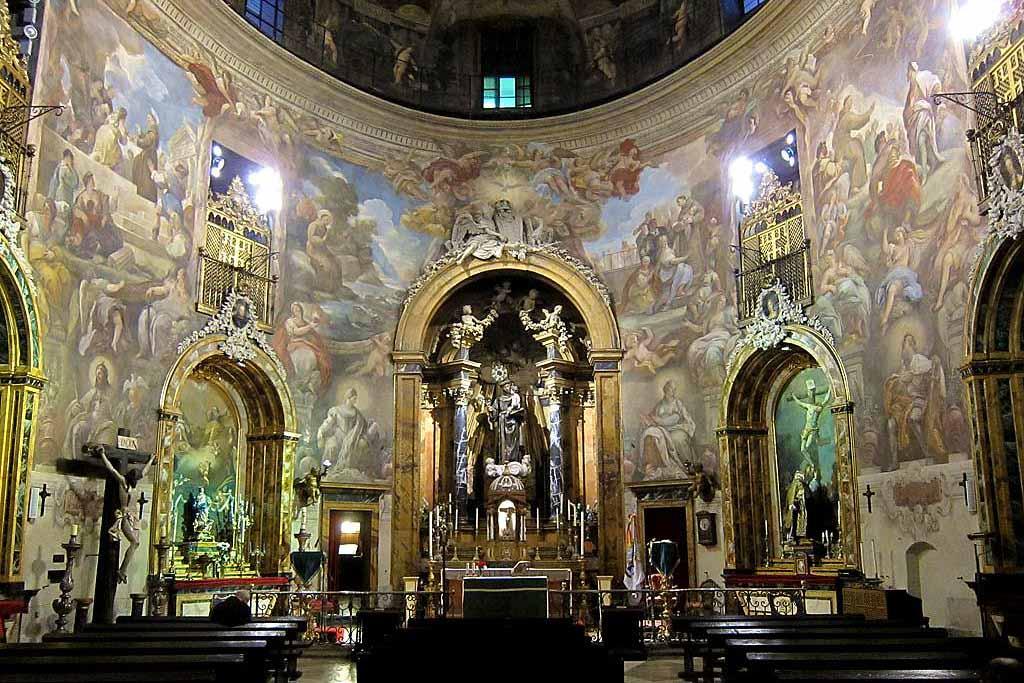Где находится церковь Святого Антония в Мадриде