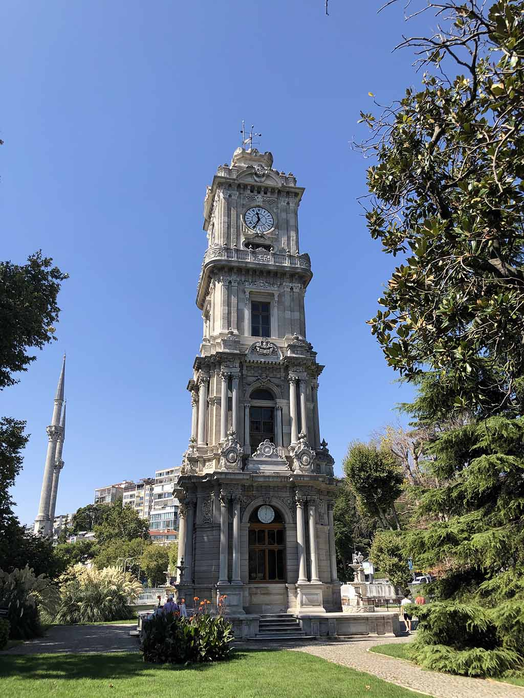 Часовая башня, дворец Долмабахче, Стамбул