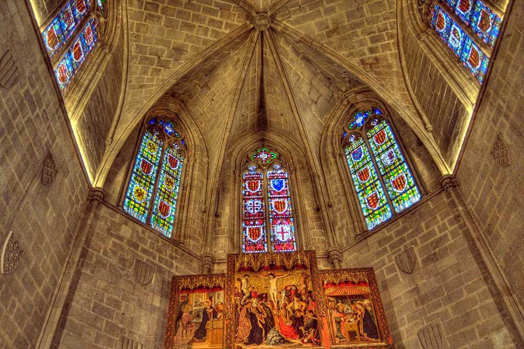 Достопримечательность Барселоны — часовня Святой Агаты