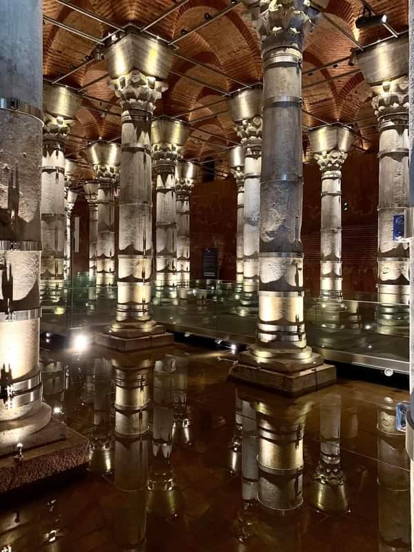 Цистерна Базилика — достопримечательности Стамбула