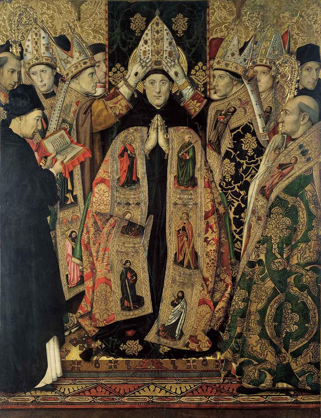 Картины в Национальном музее искусства Барселоны