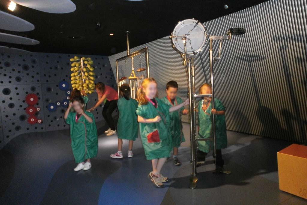 Музей науки КосмоКайша для детей —Барселона