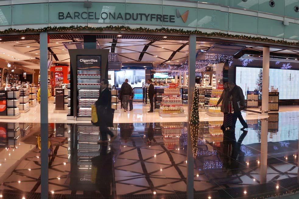 Аэропорт в Барселоне — дьюти фри