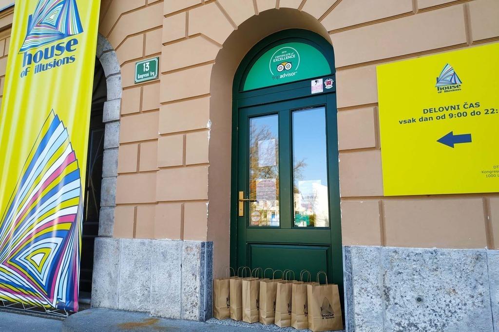 Где находится Музей Иллюзий Любляны