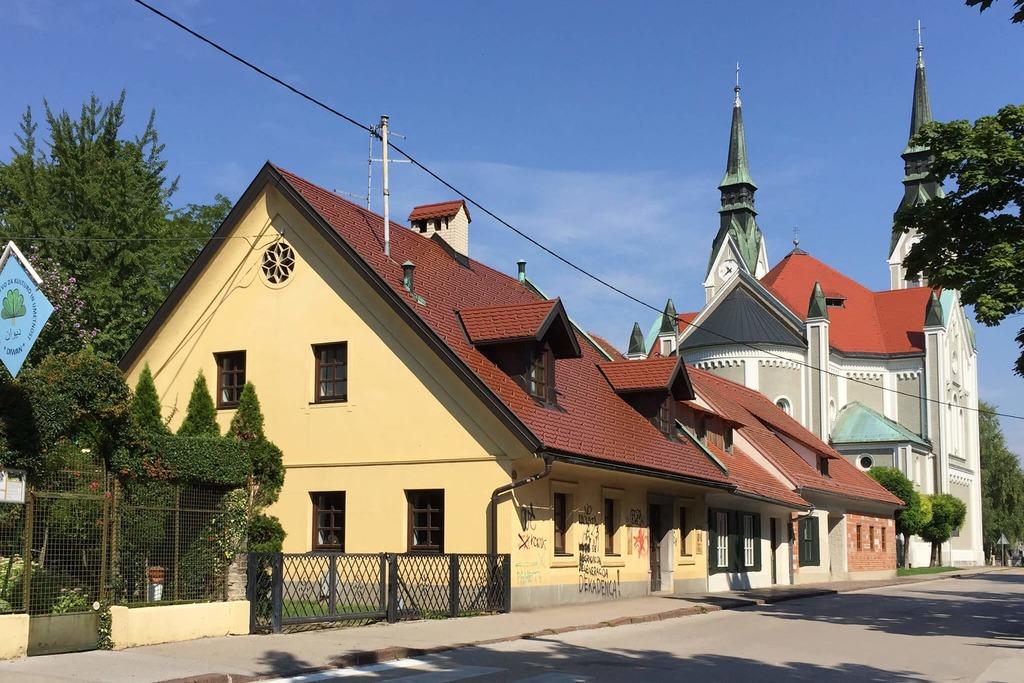 Как добраться до Дома Плечника Любляна