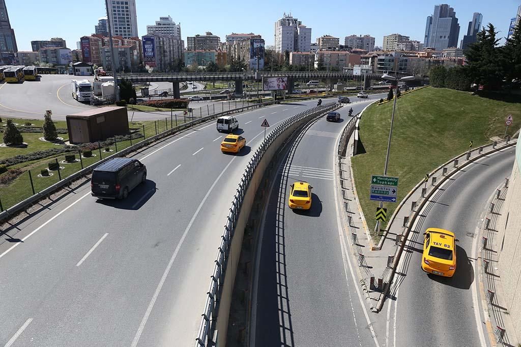 Дороги в Стамбуле