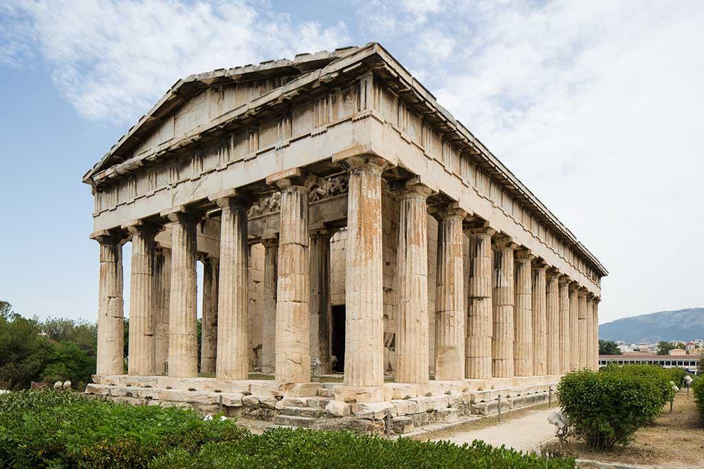 Древняя агора — достопримечательность Афин