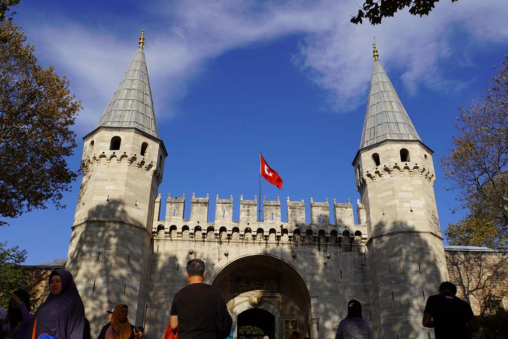Как добраться до дворца Топкапа, Стамбул