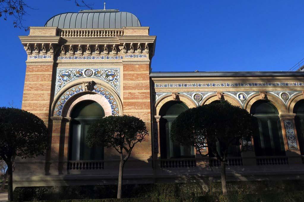 Мадрид, дворец Веласкеса