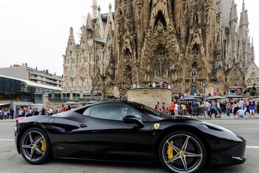 Аренда автомобиля, Барселона